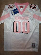REEBOK Seattle Seahawks #00 nfl Football Jersey YOUTH KIDS *GIRLS* (XL-16)