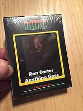1975 Ron Carter Anything Goes NEW Still Sealed 8 Track tape Kudu NOS FUNK PIMP
