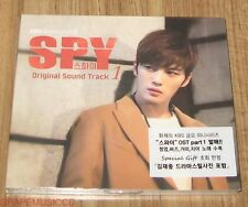 SPY KIM JAE JOONG JAEJOONG K-DRAMA OST PART 1 CD + PHOTO + POSTER IN TUBE CASE