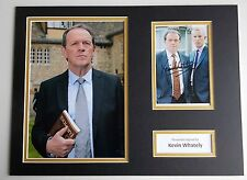 Kevin Whately SIGNED autograph 16x12 photo mount display Lewis TV AFTAL & COA