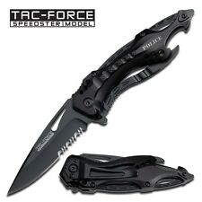 "8"" TAC FORCE POLICE TACTICAL SPRING ASSISTED FOLDING KNIFE Blade Pocket Switch"