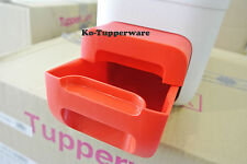 New Tupperware Rice Dispenser 10KG Container Keeper Grain Ricesmart red