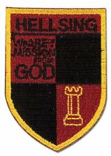 **License** Hellsing Ultimate Emblem Logo Symbol Iron On Patch #44560