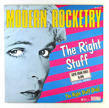 "12"" Maxi - Modern Rocketry - The Right Stuff - C1525 - RAR! - washed & cleaned"
