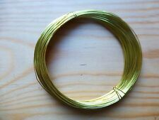 BRASS BOW WIRE FOR VIOLIN/CELLO, CRAFT/JEWELRY, APRX 20 METERS, NICE QUALITY!