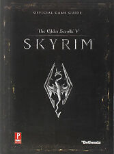 Elder Scrolls V: Skyrim : Prima Official Game Guide (2011) BRAND NEW