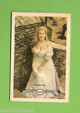 #D160. 1958-64  ATLANTIC PETROLEUM FILM STARS CARD #11  BELINDA LEE