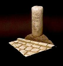 Terra Models Accessories ROMAN MILESTONE scenic base Suitable for 54MM or 75MM