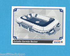 COPA AMERICA 2015 CHILE-Figurina n.20- ESTADIO GERMAN BECKER -NEW-BLACK BACK