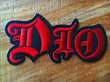 DIO Sew Iron On Patch Embroidered American Heavy Metal Rock Band Logo Music Punk