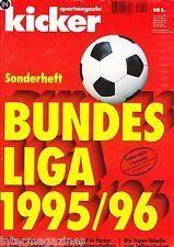Magazin kicker Sonderheft - Bundesliga Saison 1995/96 - Borussia Dortmund Poster