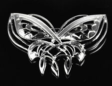 Retro Cute Lord of the Rings Hobbit Arwen Badge Silver Butterfly Brooch Pin