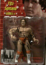 Signed Tito Santana Action Figure w/COA **BONUS**
