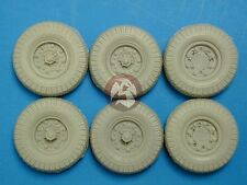 Tank Workshop 1/35 British LRDG Chevrolet Truck Tires w/Spares (6 pieces) 351010