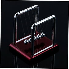 Newton's Cradle Steel Balance Balls Desk Physics Science Pendulum Desk Toy New