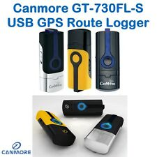 Canmore GPS Logger+Receiver GT-730FL-S USB Dongle SiRF IV/48 CH/For Windows 7&8