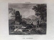 PASTORALE Pecore Glauber - Galerie du musée Napoléon J. Lavallée 1804-1815