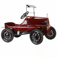 1960 Garton Tin Lizzie (lizzy) Pressed Red Vintage Pedal Car Original Restored
