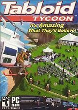 Tabloid Tycoon (PC, 2005) New Factory Sealed