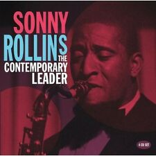 SONNY ROLLINS - THE CONTEMPORARY LEADER 4 CD NEU