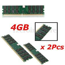 8GB 2x4gb DDR2 800MHZ PC2-6400 240 PINS DESKTOP DIMM MEMORY RAM AMD MOTHERBOARD