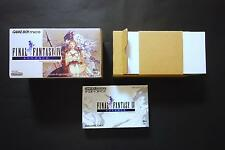 Console GBA Game Boy Micro FINAL FANTASY IV Nintendo Japan Excellent Condition