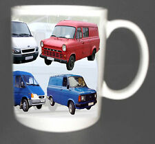FORD TRANSIT VAN CLASSIC COLLECTORS COFFEE MUG TOP GIFT