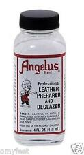Angelus Leather Preparer Deglazer for Leather Care Cleaner/Stripper Shoes Boots