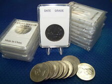 10 Coin holders Slab Style for * CANADIAN Nickel Dollar-- size 32 mm*