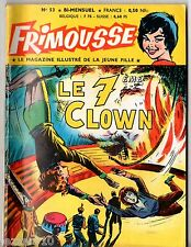 FRIMOUSSE n°53 ~+~ 1960 ED CHATEAUDUN ¤ MES HISTOIRES ILLUSTREES PREFEREES