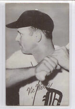 Vic Wertz 1947-66 Exhibit Card-Detroit Tigers EX