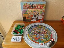 MY FIRST MONOPOLY THE ROLLER COASTER MONEY GAME WITH TALKING Mr MONOPOLY