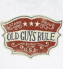 "OLD GUYS RULE "" STAND PROUD "" "" BORN IN THE USA "" W/ POCKET S/S SIZE XXL"