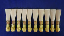 10 high quality bassoon reed blanks from Gonzales  cane  R2 /dukov_reeds AxR2/