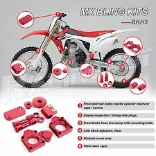 2002 - 2008 HONDA CRF450R RED BLING KIT CRF450X 2006 - 2013 MX Bling Kits New