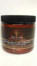 [AS I AM] DOUBLE BUTTER CREAM RICH DAILY MOISTURIZER 16OZ