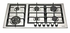 SAGA Attic CI961 90cm Built-in Stainless Steel 6 Burner Gas Hob