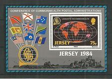 JERSEY 1984 LINKS WITH COMMONWEALTH SG,MS333 UM/M N/H LOT R185