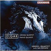 CHANDOS CHAN 9894 BROWN ~ ELGAR ~ STRING QUARTET ~ PIANO QUARTET