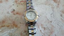 Tag heuer Professional ladies WN 1355 18k 2 tone diamond gold stainless watch