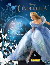 CINDERELLA STICKER COLLECTION STARTER ALBUM & 50 PACKETS OF STICKERS FULL BOX