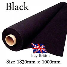 Penn Elcom Black Indoor/Outdoor Synthetic Carpet Covering 1m x 1.83m