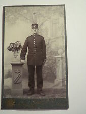 Fristad - stehender Soldat in Uniform - Regiment Nr. 15 ? - 11 ? / CDV Schweden