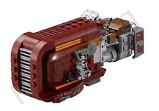 LEGO 75099 Star Wars Rey's Speeder Only No Minifigures (From 75099)