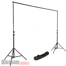 2,8x3m Teleskop Fotostudio Set Hintergrund Stativ Hintergrundsystem Fotografien