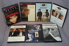 LOT - 7 Woody Allen Movies on DVD - Annie Hall, Match Point, Interiors, & More