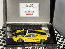 BRM MCLAREN F1 GTR TEAM HARRODS #3 LE BRM034  1.24 SLOT BNIB LATEST