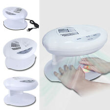 Elite99 Nail Art Finger Toe Polish Dryer Fan Cool &Warm Wind Automatic Sensors