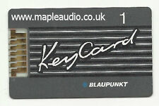 Blaupunkt Melbourne cr43 7 642 465 510 CHIAVE MAGNETICA N. 1-Brand New Genuine PART