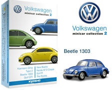 KYOSHO VOLKSWAGEN Minicar Collection 2 BEETLE 1303 blue 1/64 3-3
